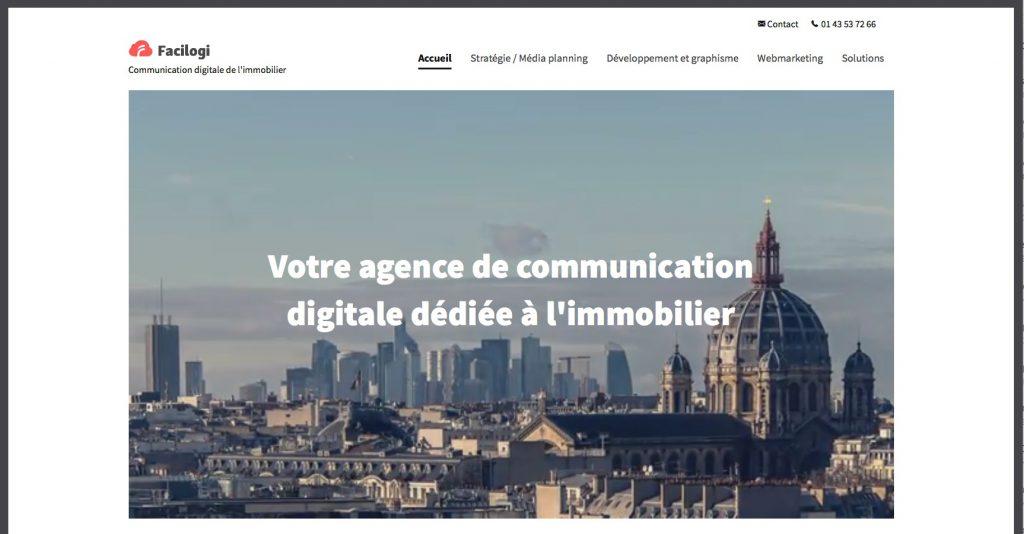 agence web immo Paris