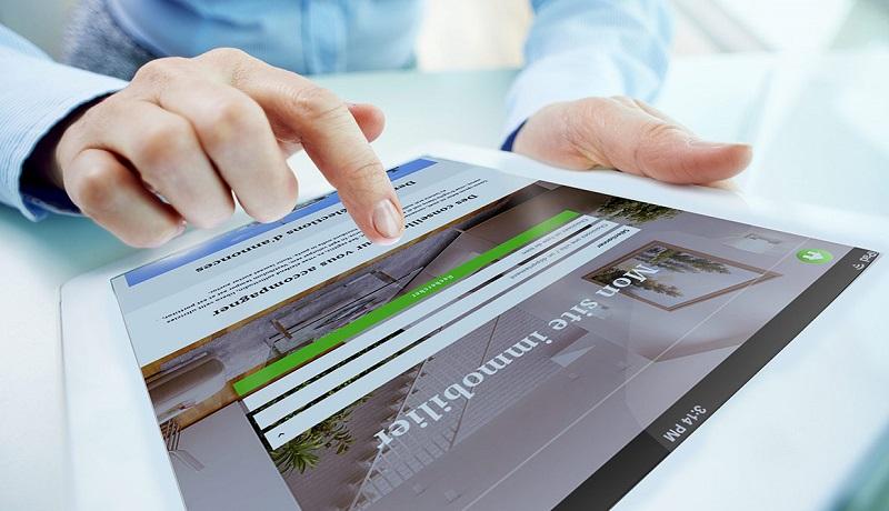 créer votre site web d'agence immobilière