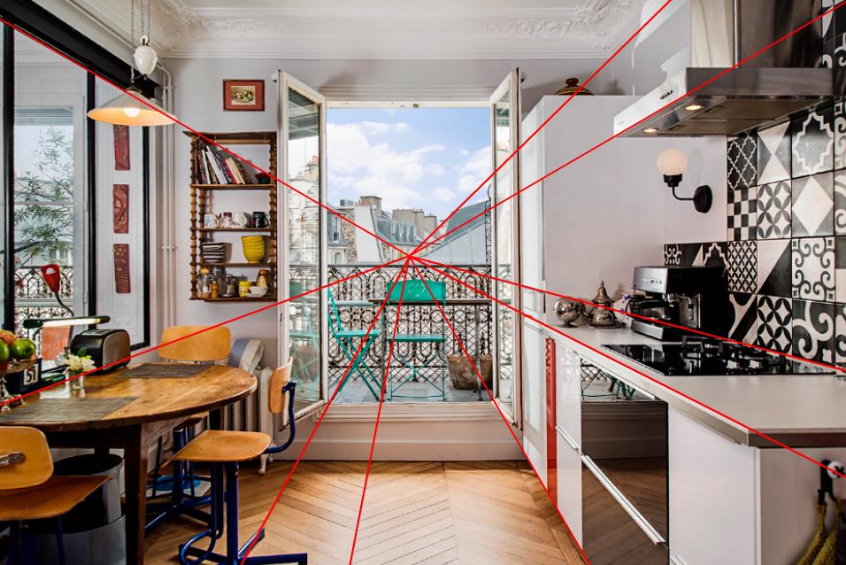 Perspective D Interieur 1 Point De Fuite Cuisine : Photographie immobilière astuces pour maîtriser cet art