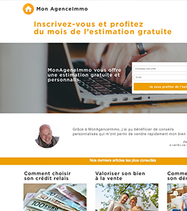 Exemple de landing page - Inbound marketing