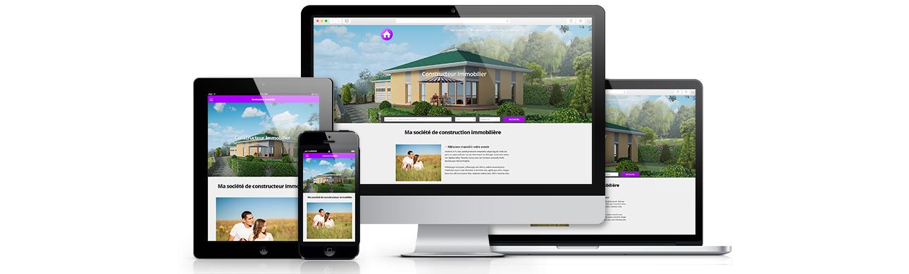 Site internet pour constructeurs facilogi for Site constructeur